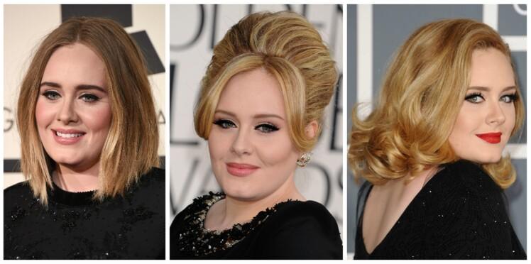 Adele : inspirez-vous de ses looks coiffure et make-up