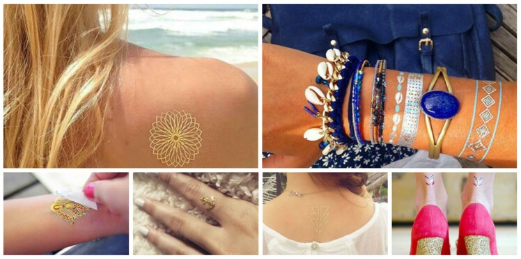 20 tatouages éphémères repérés sur Instagram