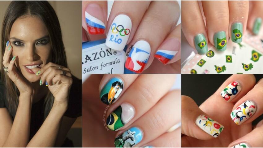 Manucure Rio 2016 : 15 styles aux couleurs des J.O