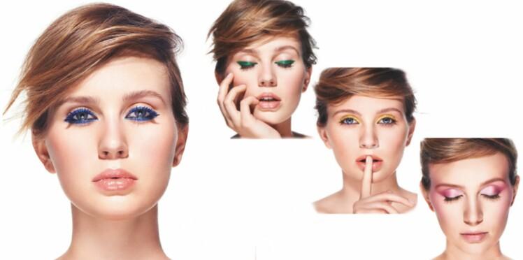 Maquillage d'été : 4 idées de look pour oser la couleur