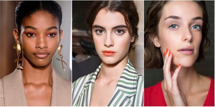 Rouge à lèvres, vernis à ongles… le make-up orange, on ose ou pas ?