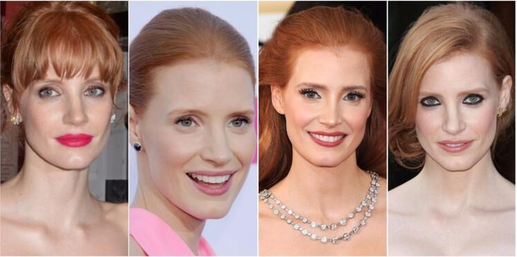 Les 5 faux-pas make-up des rousses comme Jessica Chastain