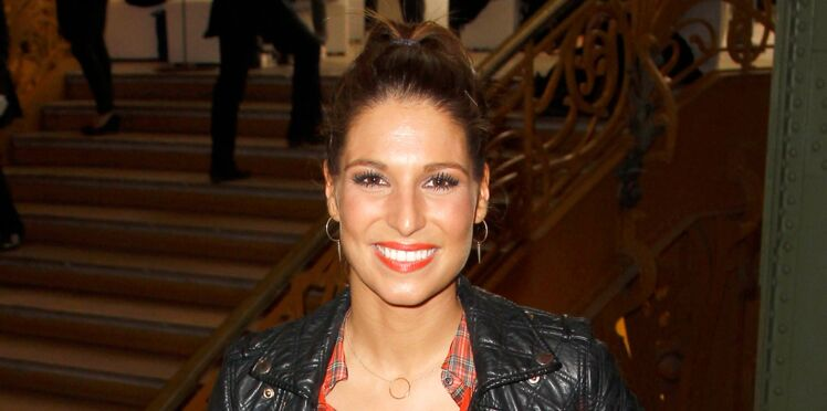 Look du jour : la bouche orange de Laury Thilleman