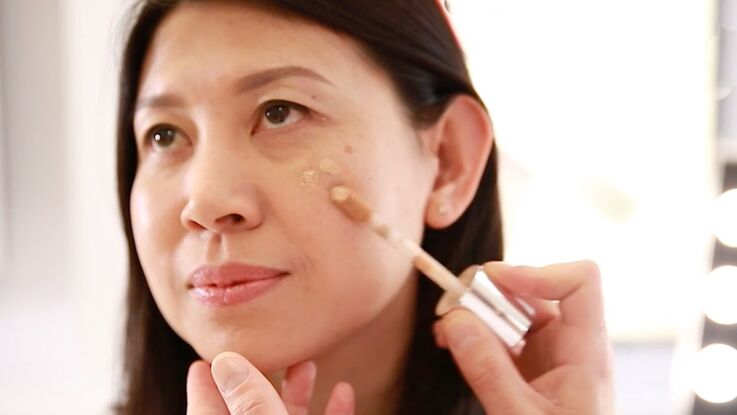 Maquillage anti-âge : comment camoufler les taches brunes