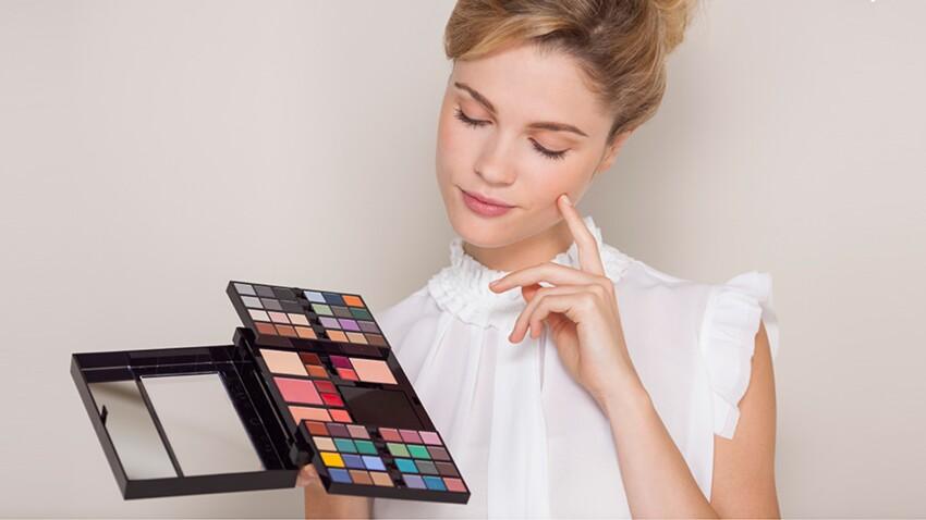 Maquillage : comment utiliser sa palette de couleurs en entier ?