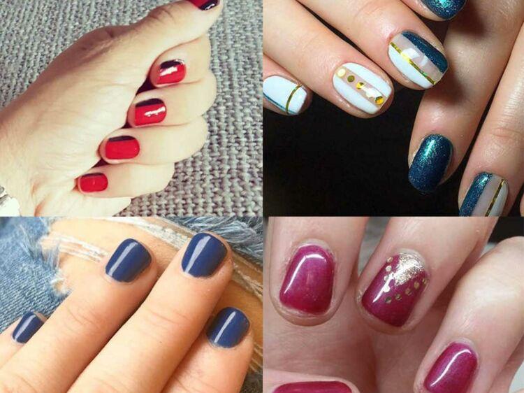 Ongles Courts 15 Idées Manucures Repérées Sur Instagram Femme