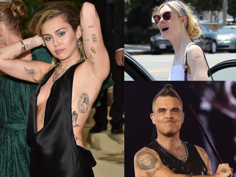 Tatouage Au Bras 10 Stars Dont On S Inspire Femme Actuelle Le Mag