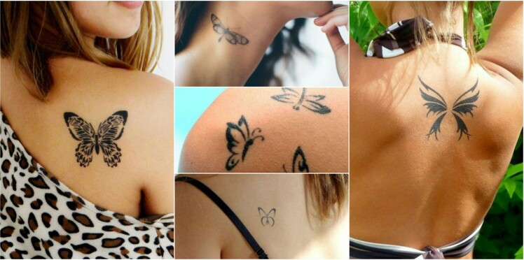 Tatouages Papillon Nos Idees A Adopter Sans Hesiter Femme