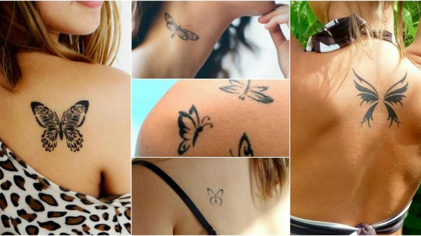 Tatouages Papillon Nos Idees A Adopter Sans Hesiter Femme Actuelle Le Mag