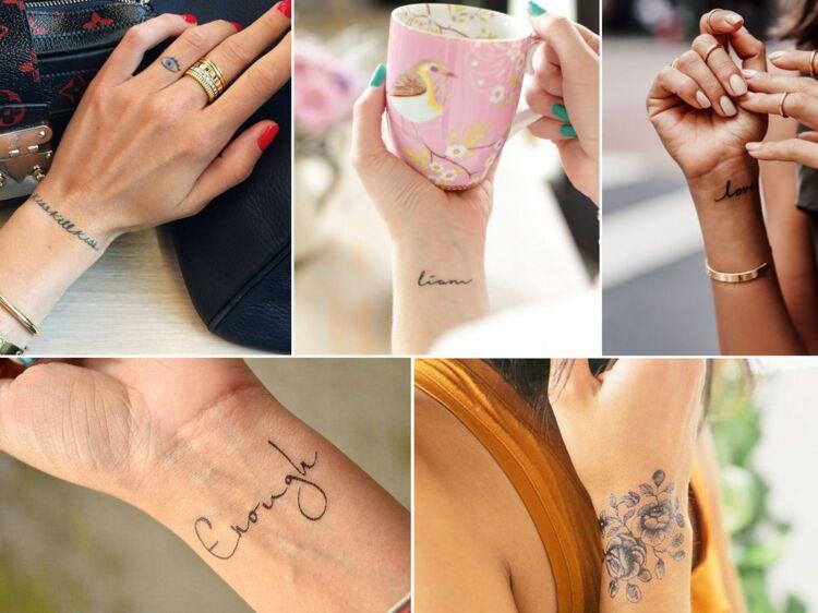 Les Plus Jolis Tatouages Pour Poignet De Pinterest Femme Actuelle