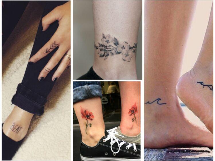 10 tatouages de chevilles que vous allez adorer : femme actuelle le mag