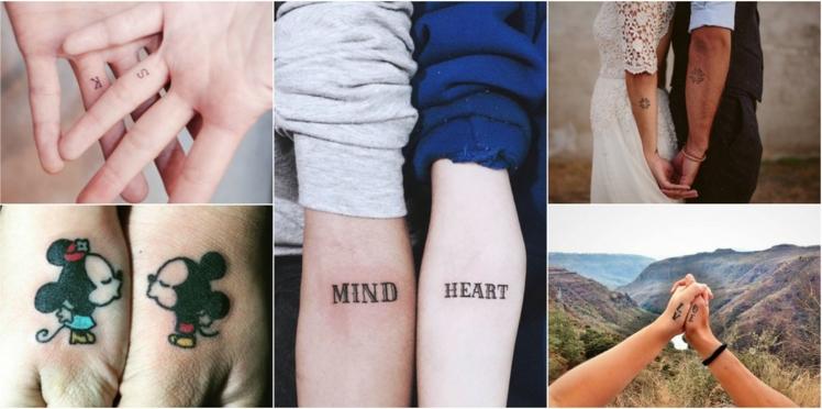 Tatouages couple, nos 15 idées les plus romantiques