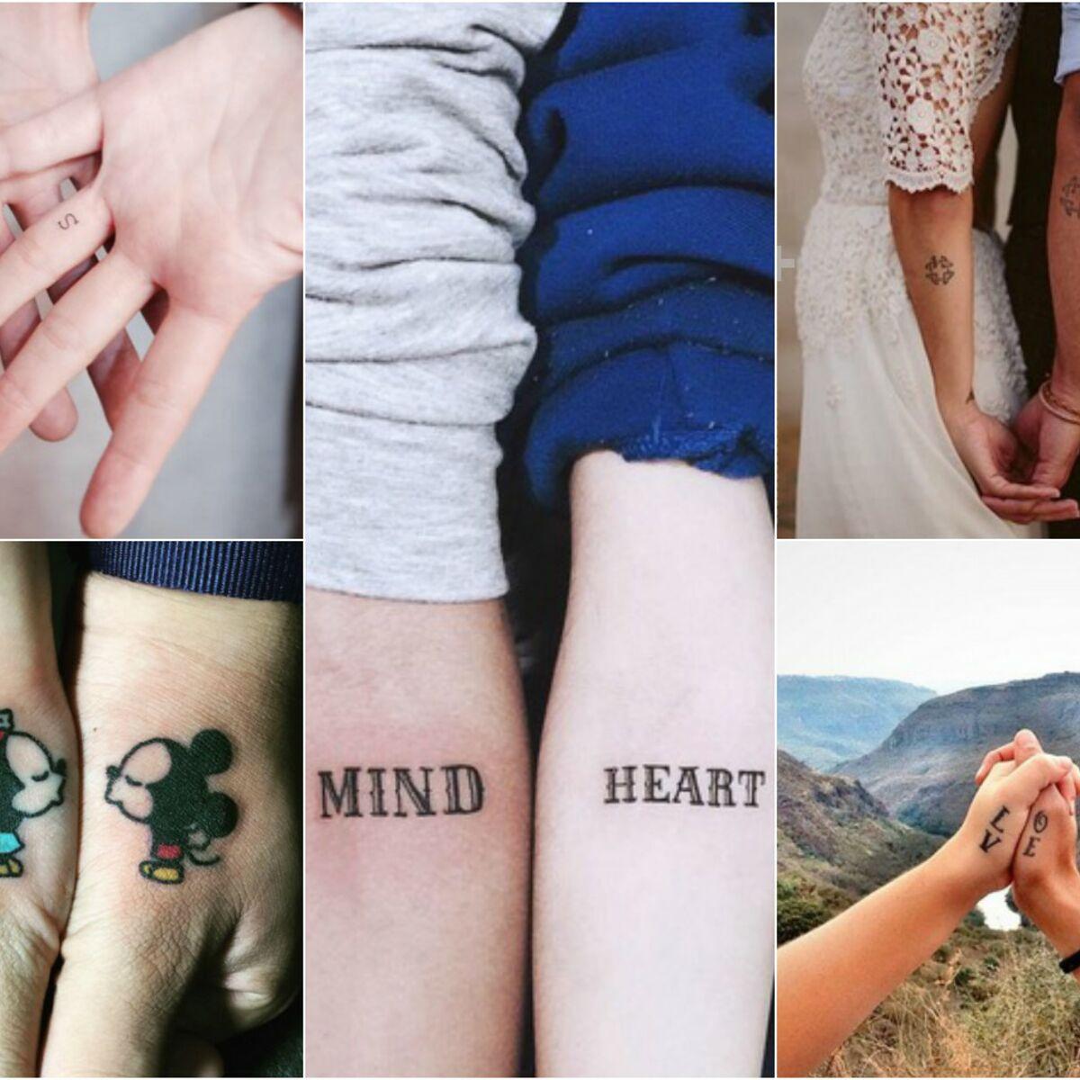 Tatouages Couple Nos 15 Idees Les Plus Romantiques Femme Actuelle Le Mag