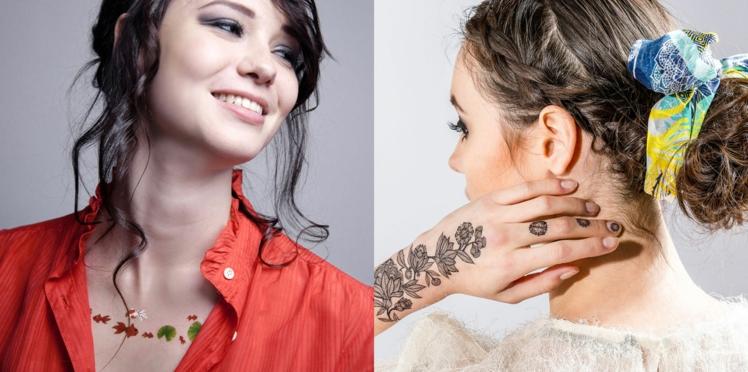 Tatouages éphémères, nos conseils et idées de looks