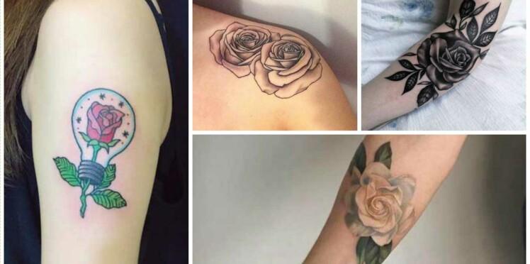 Tatouage De Rose 15 Idees Reperees Sur Instagram Femme Actuelle