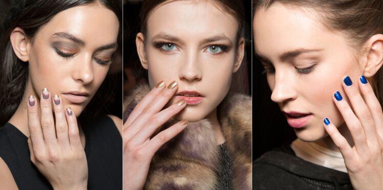 Manucures de l'automne/hiver : les tendances à adopter
