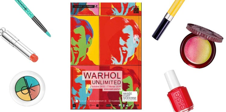 Warhol l'exposition : notre shopping beauté pop