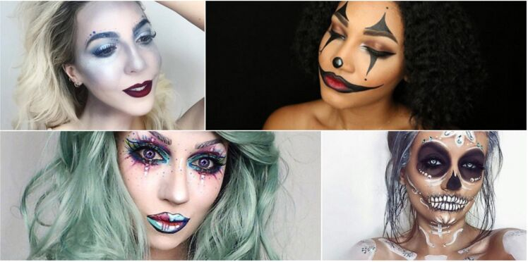 20 maquillages d'Halloween vraiment bluffants vus sur Instagram