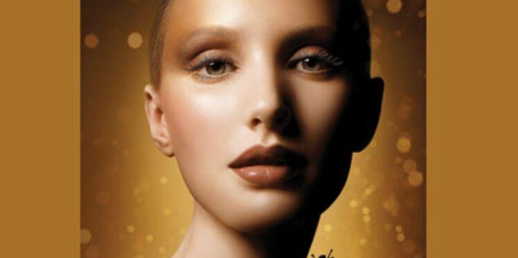 Des cosmétiques pour une parure en or !