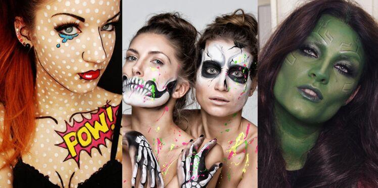 Maquillage d'Halloween : 20 idées pour s'inspirer