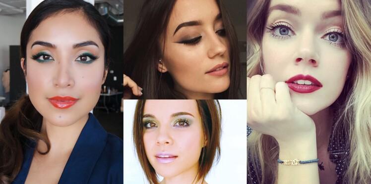 15 make up de fêtes repérés sur Instagram