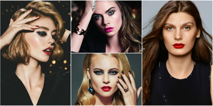 Maquillage de Noël, nos idées pour trouver l'inspiration