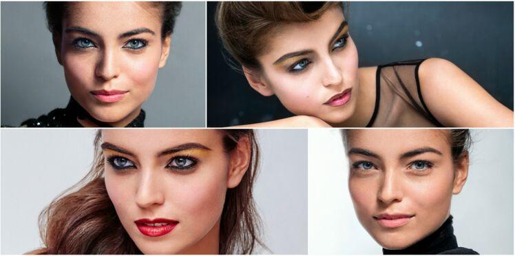 4 maquillages de fêtes faciles et glamour