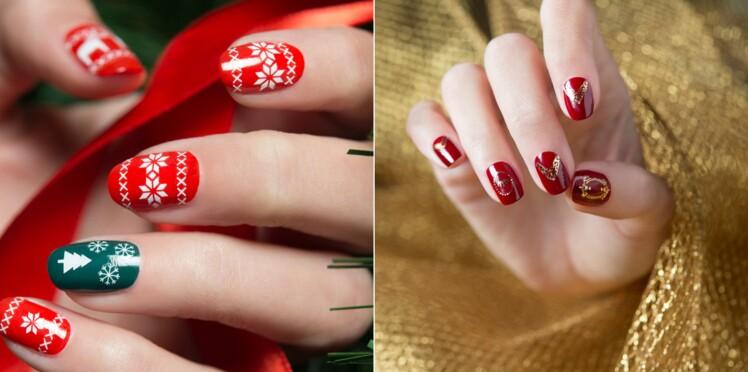 Nail art de Noël : 20 idées faciles à faire