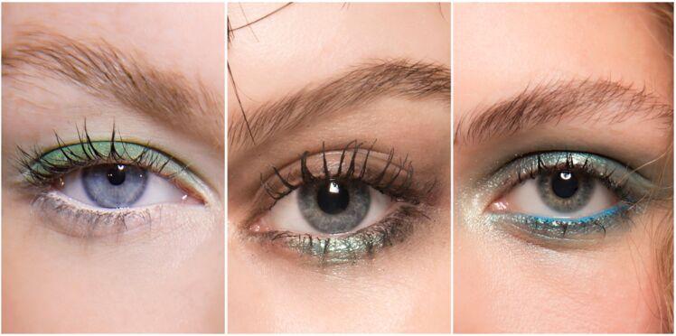3 façons de porter le maquillage vert cet été