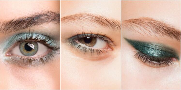 3 façons de porter un joli maquillage vert cet été