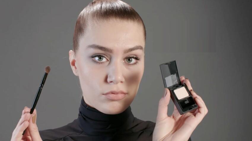 Tutoriel maquillage : appliquer une ombre à paupières