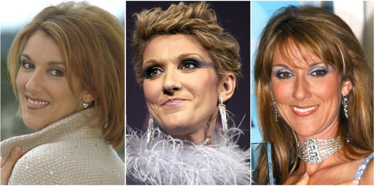 Céline Dion : ses 50 ans en 15 looks make-up