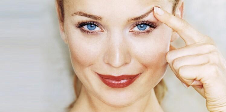 maquillage   comment combler des trous dans les sourcils     femme actuelle le mag