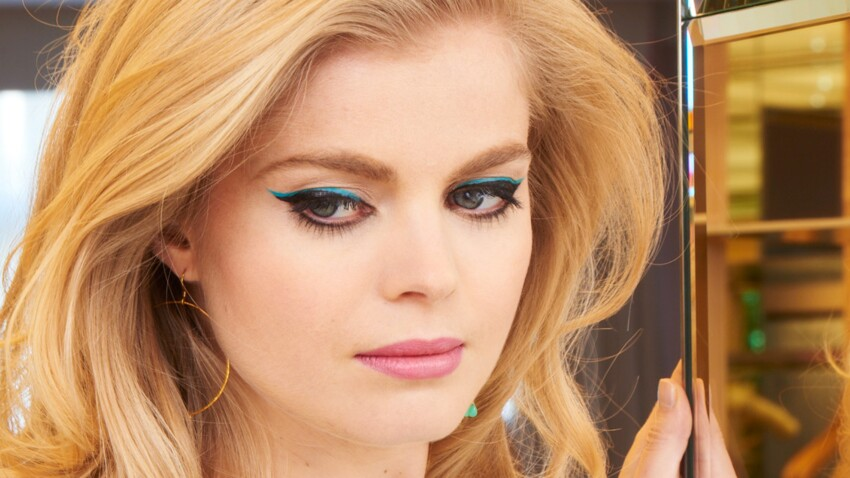 Le double liner turquoise, step by step