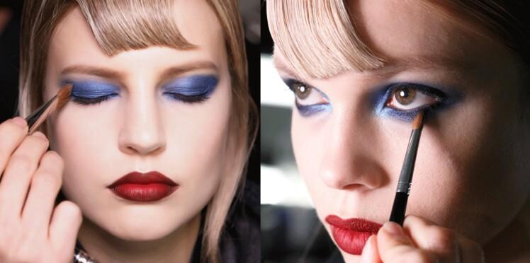 Make-up bleu sur les yeux, je me lance ?