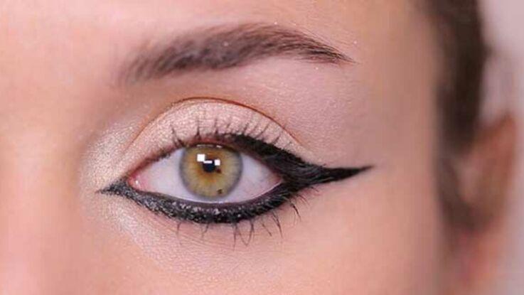 Make-up glamour : l'eye-liner graphique