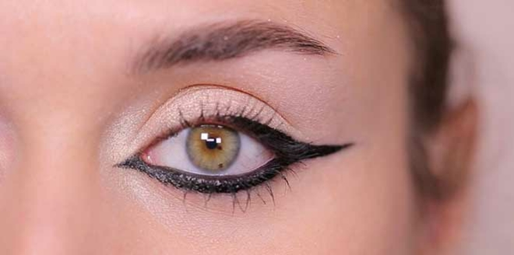 Make-up glamour : l'eye-liner graphique