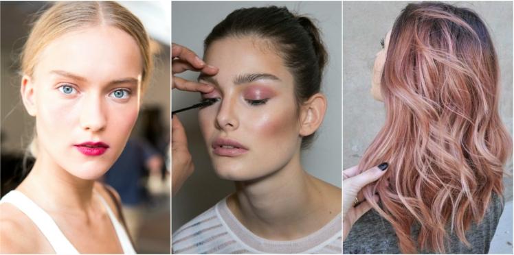 Maquillage et coloration mauve : la couleur tendance du printemps/été