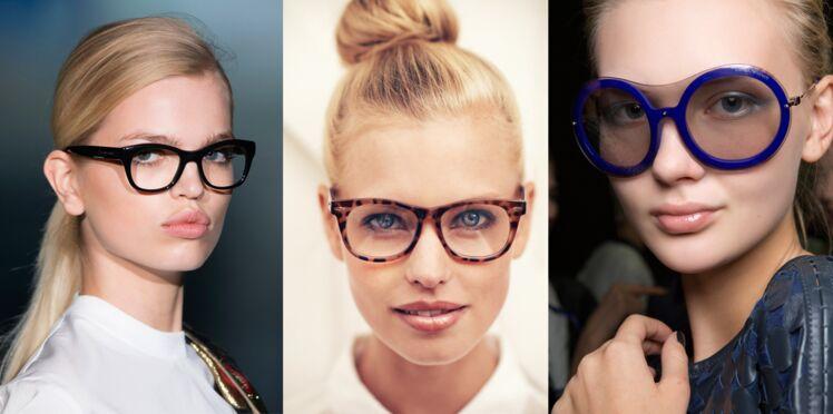 Bien maquillée avec mes lunettes