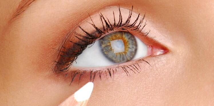 Comment maquiller ses yeux avec un crayon blanc ?