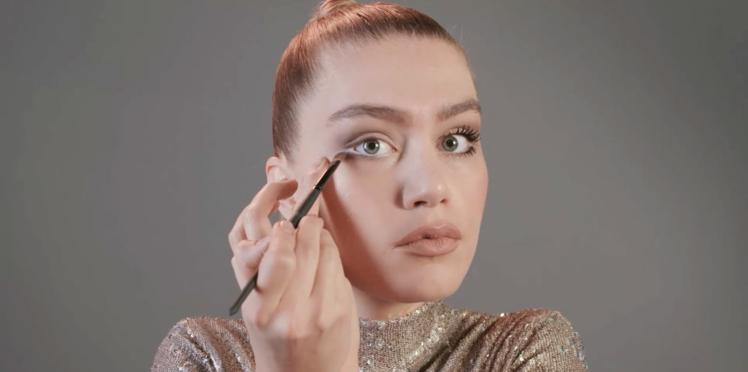 Tutoriel maquillage : le smoky eyes léger (vidéo)