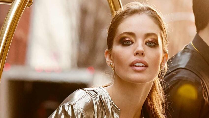 7 façons de porter le maquillage doré avec style