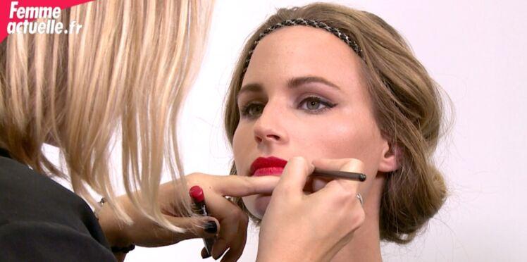 Un make-up glamour en 2 minutes (vidéo)