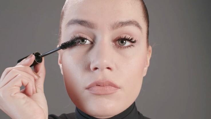 tutoriel maquillage : la pose du mascara (vidéo) : femme actuelle le mag