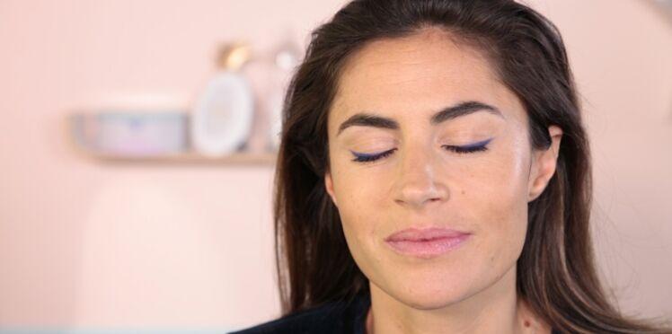 Tutoriel maquillage : l'eyeliner coloré facile
