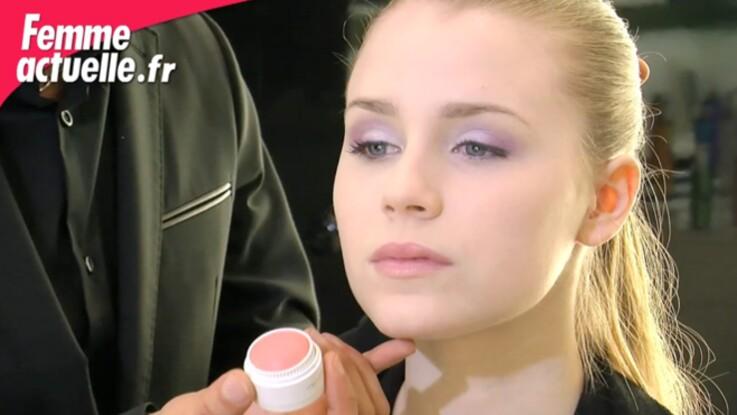 Un maquillage pastel à croquer
