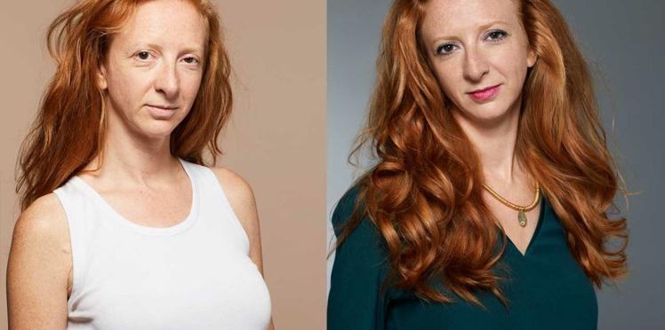 Avant/après : le relooking make-up de Camille