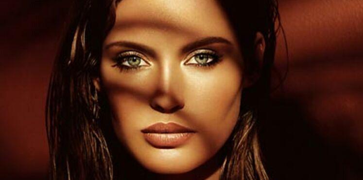 Un maquillage ensoleillé
