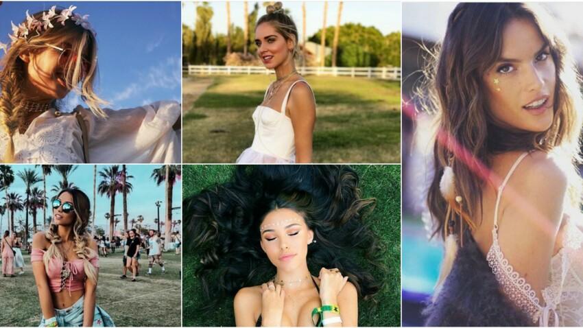 5 idées beauté repérées à Coachella