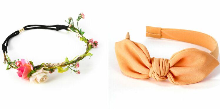 Des accessoires pour cheveux en un clic